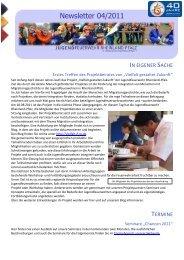 Newsletter 04/2011 - Jugendfeuerwehr Rheinland-Pfalz