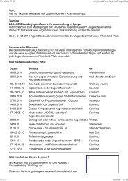 Newsletter JF-RP April 2010 - Jugendfeuerwehr Rheinland-Pfalz