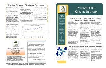 ProtectOHIO: Kinship Strategy - Ohio Department of Job and Family ...