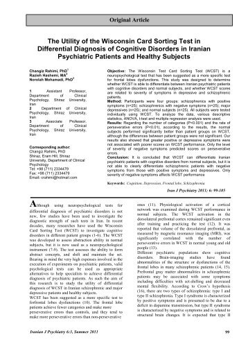 Psychometric properties of the Persian version of the Liebowitz ...