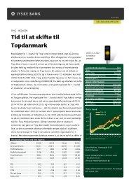 Tid til at skifte til Topdanmark - Jyske Bank