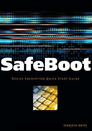 Device Encryption QuickStart Guide - McAfee