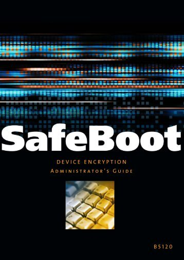 Device Encryption 5.0 Administrators Guide - Glossary of Technical ...