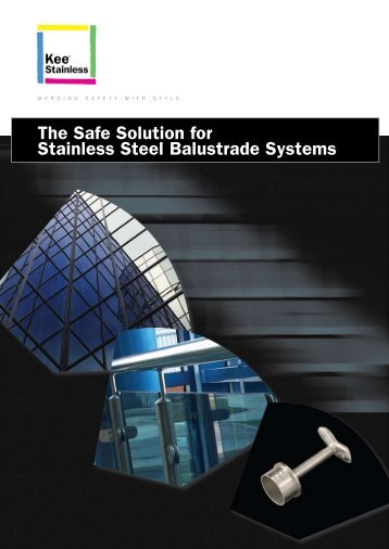 The Safe Solution for Stainless Steel Balustrade ... - Kee Safety, DE