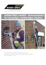 HANDS-FREE LADDER - Sicherheitsleiter für ... - Kee Safety, DE
