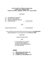 court of appeal criminal appeal no: q-05-123-2009 between