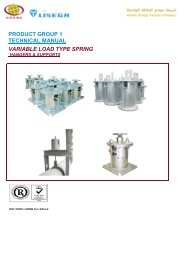 product group 1 technical manual variable load type spring - keksa
