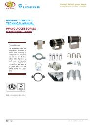 product group 3 technical manual piping accessories - keksa