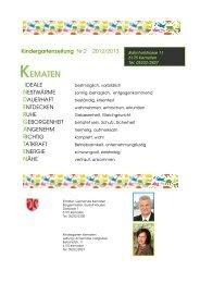 KINDERGARTEN KEMATEN neu hompage - Gemeinde Kematen in ...
