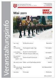 Mai 2011 - Gemeinde Kematen in Tirol