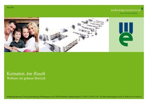 """DOWNLOAD: Informationsheft """"Wohnanlage am Rauth"""" - Gemeinde ..."""
