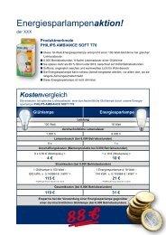 Energiesparlampenaktion! - Gemeinde Kematen in Tirol
