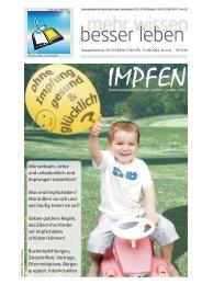 Impfen - Kent Depesche / mehr wissen - besser leben