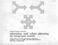 Education and Urban Planning as Congruent Events - Kennedy ...
