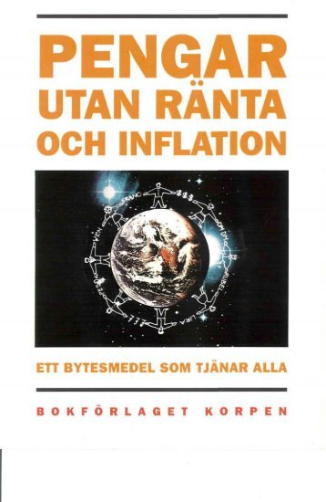 Pengar utan ränta och inflation - Kennedy Bibliothek