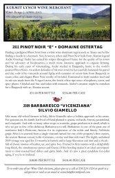 April 2013 Wine Club Bulletin - Kermit Lynch Wine Merchant