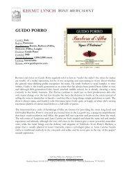 GUIDO PORRO - Kermit Lynch Wine Merchant