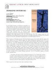DOMAINE OSTERTAG - Kermit Lynch Wine Merchant