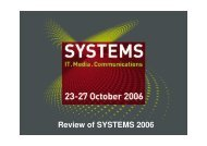 SYSTEMS 2006 – Visitors