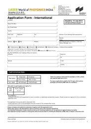LASER Wop India 2013 application form int - Visit site media.nmm.de