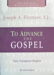 To Advance the Gospel: New Testament Studies, 2nd edition (The ...