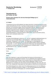 AKW-Abschaltgesetz der SPD - khd-Blog