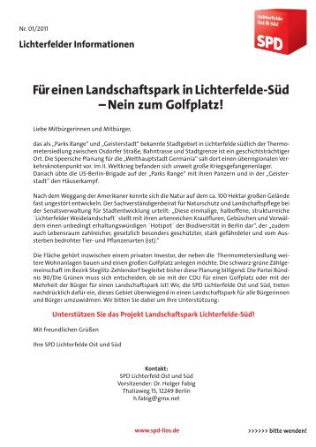 Landschaftspark Lichterfelde-Süd