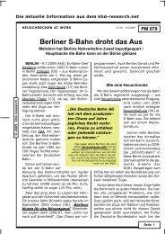 PM_079 -- Berliner S-Bahn droht das Aus - khd-Blog