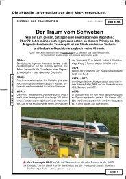 PM_038 -- Transrapid-Chronik - khd-Blog