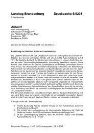Landtag Brandenburg Drucksache 5/6208