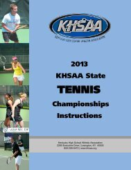 State Tournament Information - Kentucky High School Athletic ...