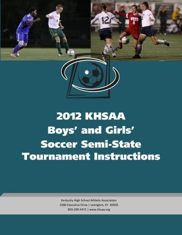 Complete Tournament Manager Manual W Forms Kentucky High