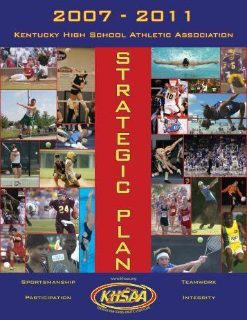S T R A T E G I C P L A N - Kentucky High School Athletic Association