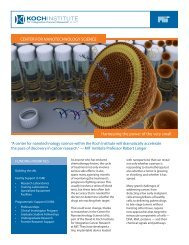 Download a brochure about the Center for Nanotechnology Science