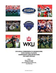 2010 khsaa commonwealth gridiron bowl state football playoffs ...