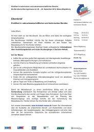 Elternbrief (PDF | 198 kB) - KickStart Messe Magdeburg