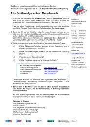 Unterrichtsmaterial (PDF | 701 kB) - KickStart Messe Magdeburg