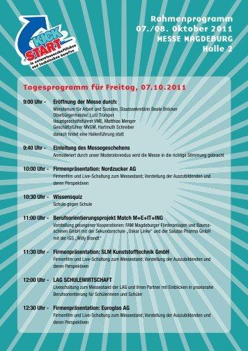 Download | PDF 706KB - KickStart Messe Magdeburg