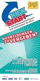 ZUVERGEBEN! - KickStart Messe Magdeburg
