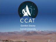 Gordon Stacey - KICP Workshops