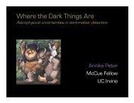 Where the Dark Things Are - KICP Workshops