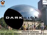RICHARD SALDANHA IDENTIFICATION OF ... - KICP Workshops