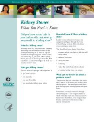 Kidney Stones - National Kidney and Urologic Diseases Information ...