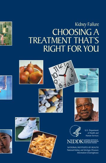 Choosing a Treatment That's Right for You - National Kidney and ...