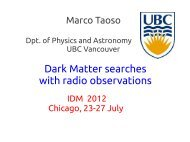 Dark Matter searches with radio observations - KICP Workshops