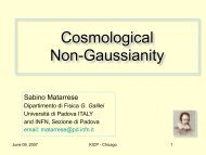 Cosmological Non-Gaussianity - KICP Workshops
