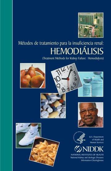Métodos de tratamiento para la insuficiencia renal: Hemodiálisis