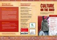 Flyer Culture on the Road - Kiju-rottweil.de