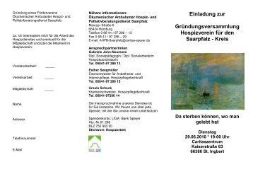 Flyer zum Herunterladen - Kirche in Homburg