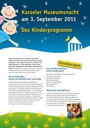 findest du hier (bitte anklicken!) - Kinderkultur - Kassel